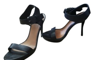 Mark & James by Badgley Mischka Leather Black Sandals