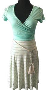 Modcloth short dress Mint green and cream on Tradesy