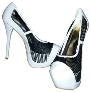 Liliana WHITE & BLACK Platforms