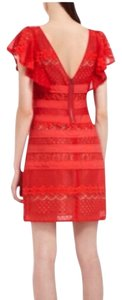 BCBGMAXAZRIA short dress Red on Tradesy