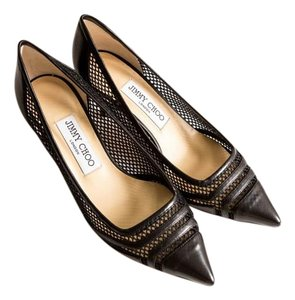 Jimmy Choo Pump Black Leather Pumps
