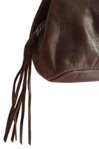 Banana Republic Tassel Leather Hobo Bag