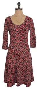 Lush short dress FLORAL Criss Cross on Tradesy
