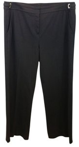 St. John Brown Straight Pants