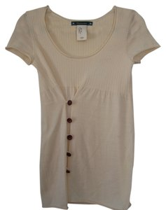 Anthropologie Tunic Merino Wool Wool Tee Sweater