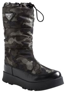 Prada Winter Snow Camouflage Boots