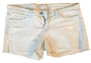 J Brand Cut Off Shorts Light blue