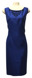 Other Kasper Embellished Cocktail Sheath Dress