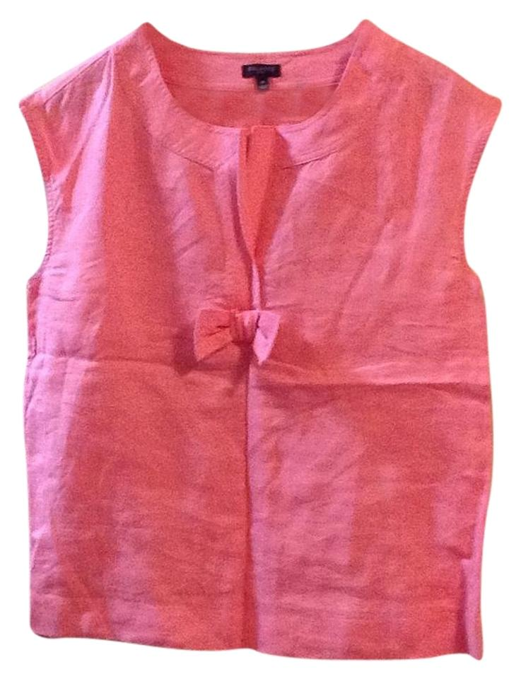 fed3a204aee58 Talbots Pink Blouse Size 8 (M) - Tradesy