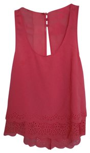 Forever 21 Sleeveless Top Coral