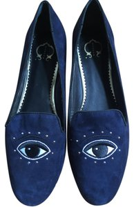 C. Wonder Suede Loafers navy Flats