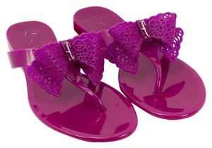 Salvatore Ferragamo 0584487 Grape Sandals