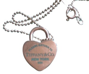 Tiffany & Co. Tiffany & Co. Return To Tiffany Heart Lock Pendant