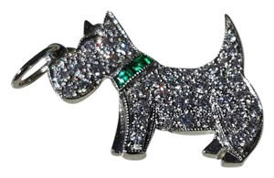 Tiffany & Co. **RARE** TIFFANY & CO. SCOTTIE DOG WITH DIAMONDS & EMERALD COLLAR
