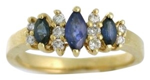 Other Quality 14k Sapphire and Diamond Ring