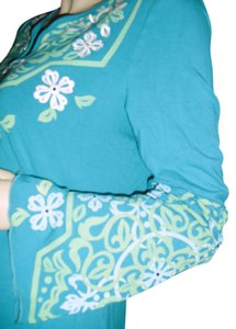 INC International Concepts Top turquoise, seafoam