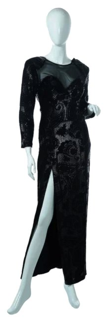 Preload https://item5.tradesy.com/images/lilly-rubin-black-vintage-collection-long-formal-dress-size-4-s-1820274-0-0.jpg?width=400&height=650