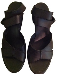 Bottega Veneta Made In Italy Black Sandals
