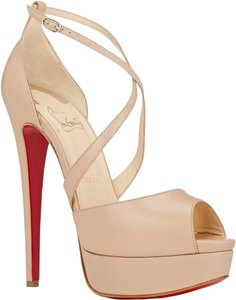 Christian Louboutin Beige Blush Nude Sandals