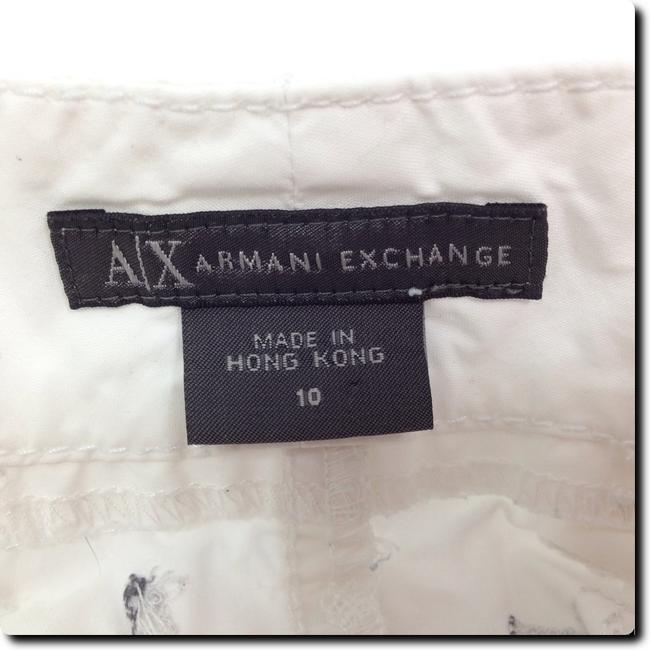 A|X Armani Exchange Embroidered Straight Pants white Image 3