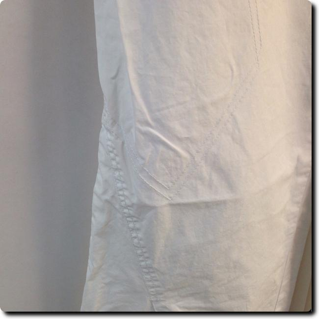 A|X Armani Exchange Embroidered Straight Pants white Image 4