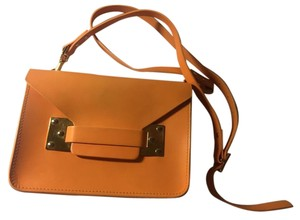 Sophie Hulme Leather Chic Mini Envelope Cross Body Bag