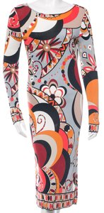 Emilio Pucci Maxi Print Monogram Dress