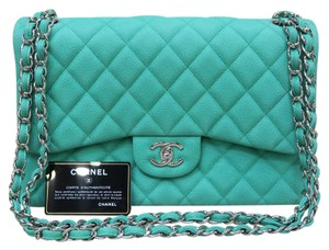 Chanel Jumbo Cf Double Flap Shoulder Bag