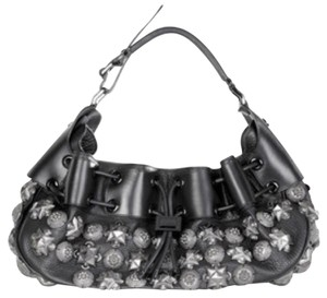 Burberry Prorsum Studded Leather Hobo Bag