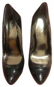ALDO Pump Stiletto Platform black Pumps