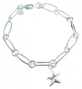 Tiffany & Co. Starfish Charm Bracelet