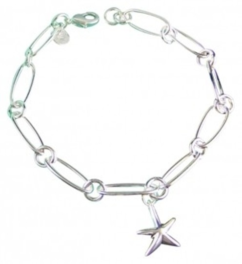 Preload https://item3.tradesy.com/images/tiffany-and-co-sterling-silver-starfish-charm-bracelet-182062-0-0.jpg?width=440&height=440