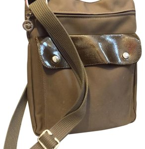 Longchamp Olive Messenger Bag
