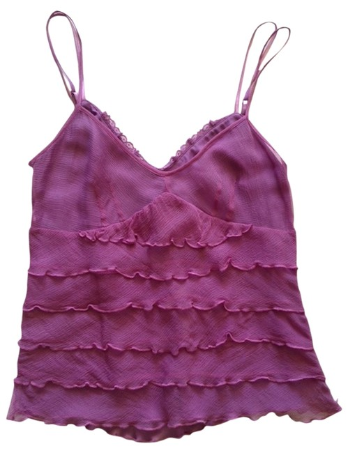 Laundry by Shelli Segal Silk Top Purple Image 0
