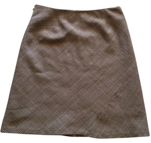 Chaiken Mini Skirt Brown