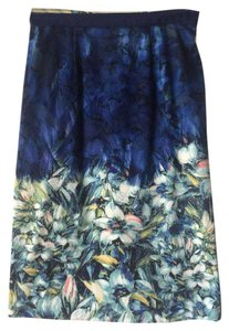 Anthropologie Classic Print Skirt