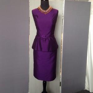 Alexia Designs Plum Dress