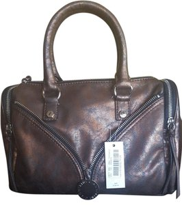 Gianni Bini Satchel in Brown/gold