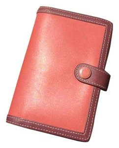 Coach Passport Holder/ Agenda