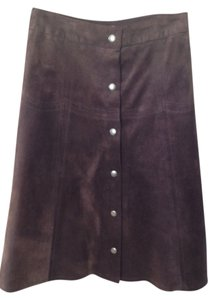 Barneys New York Skirt Brown