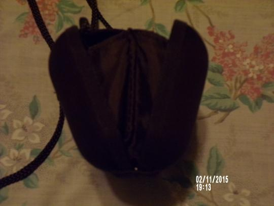Other Silk Vintage Stylish Chocolate Brown Box Clutch Image 2