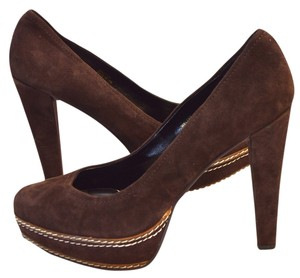 Paco Gil Brown Pumps