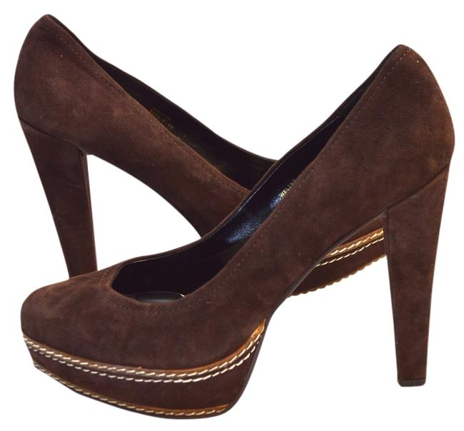 Paco Gil Brown Pumps Size US 10 Regular (M, B) Paco Gil Brown Pumps Size US 10 Regular (M, B) Image 1