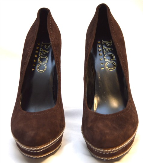 Paco Gil Brown Pumps Image 2