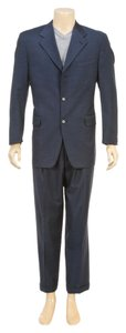 Canali Canali Men's Blue Three Button Suit (Size 50)
