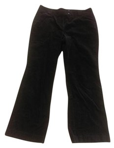 Ann Taylor Corduroy Tall Flare Pants Brown