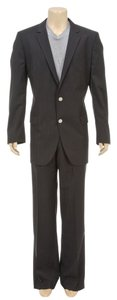 Hugo Boss HUGO Hugo Boss Black Pin Stripe Two Button Men's Suit (Size 46L)