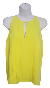 J.Crew Top Neon Yellow