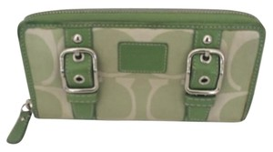 Coach COACH ZOE ZIP AROUND WALLET