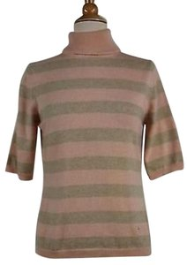 Burberry London Striped Cashmere Sweater Sweatshirt